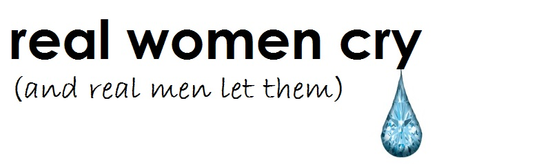 real women cry (and real men let them) Logo
